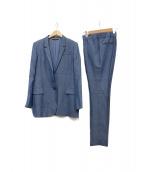 GUCCI(グッチ)の古着「レーヨンセットアップスーツ」|ブルー