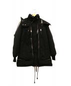 DSQUARED2(ディースクエアード)の古着「ダウンモッズコート」|ブラック