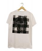 HYDROGEN(ハイドロゲン)の古着「パッチワークポケットTシャツ」|ホワイト