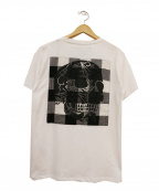 HYDROGEN(ハイドロゲン)の古着「パッチワークポケットTシャツ」 ホワイト