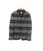 GUILD PRIME(ギルドプライム)の古着「ニットジャケット」|ブラック