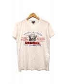 DIESEL(ディーゼル)の古着「プリントTシャツ」|ホワイト