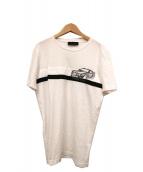 DIESEL BLACK GOLD(ディーゼルブラックゴールド)の古着「プリントTシャツ」|ホワイト