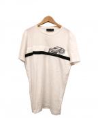 DIESEL Black Gold()の古着「プリントTシャツ」|ホワイト