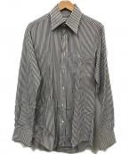 DOLCE & GABBANA(ドルチェ&ガッバーナ)の古着「ストライプシャツ」|グレー