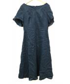 Sybilla(シビラ)の古着「リネンワンピース」|ブルー