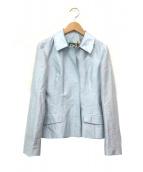 D&G DOLCE & GABBANA(D&G ドルチェ&ガッバーナ)の古着「テーラードジャケット」|スカイブルー