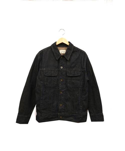 rag&bone(ラグアンドボーン)rag&bone (ラグアンドボーン) デニムジャケット ネイビー サイズ:M USA製の古着・服飾アイテム