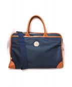Orobianco(オーロビアンコ)の古着「ビジネスバッグ」|ネイビー