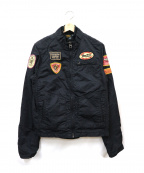 SCOTCH & SODA(スコッチアンドソーダ)の古着「ミリタリージャケット」|ブラック