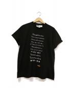 STELLA McCARTNEY(ステラ・マッカートニ)の古着「プリントTシャツ」|ブラック