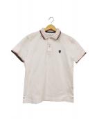 BLACK LABEL CRESTBRIDGE(ブラックレーベルクレストブリッジ)の古着「ポロシャツ」|ホワイト