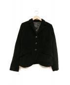agnes b(アニエスベ)の古着「コーデュロイジャケット」|ブラック