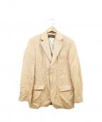 LORO PIANA(ロロピアーナ)の古着「段返3Bテーラードジャケット」 ブラウン