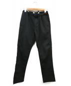 Dickies(ディッキーズ)の古着「ストレッチツイルパンツ」|ブラック