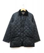 MACKINTOSH PHILOSOPHY(マッキントッシュフィロソフィー)の古着「ダウンキルティングコート」|ブラック