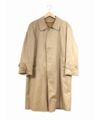 Burberrys(バーバリーズ)の古着「 [OLD]英国製ノヴァライナーステンカラーコート」|ベージュ