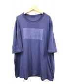Martin Margiela 10(マルタンマルジェラ10)の古着「Memory of Label Tシャツ」|ネイビー