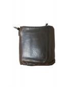 ISAMU KATAYAMA BACKLASH(イサムカタヤマ バックラッシュ)の古着「2つ折り財布」|ブラック