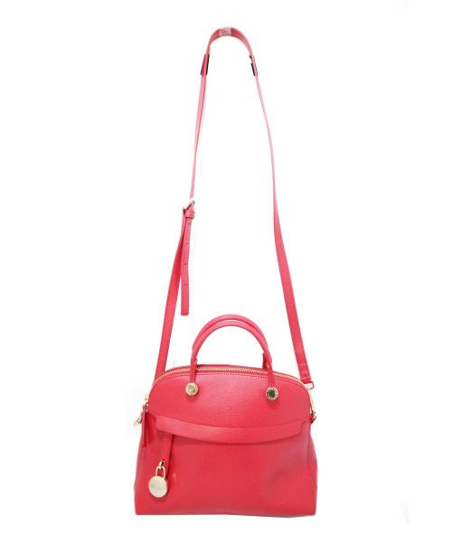 FURLA(フルラ)FURLA (フルラ) 2WAYショルダーバッグ ピンク パイパーの古着・服飾アイテム