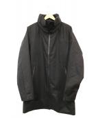 DESCENTE ALLTERRAIN(デザイント オルテライン)の古着「ウォームシェルオールウェザーコート」|ブラック