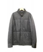 Berluti(ベルルッティ)の古着「中綿ウールジャケット」|グレー