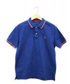 BLACK LABEL CRESTBRIDGE(ブラックレーベルクレストブリッジ)の古着「ポロシャツ」|ブルー