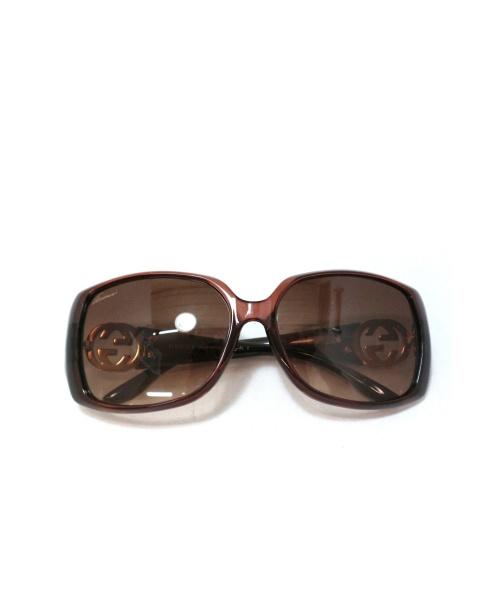 GUCCI(グッチ)GUCCI (グッチ) サングラス ブラウン GG3520の古着・服飾アイテム
