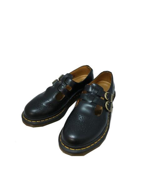 Dr.Martens(ドクターマーチン)Dr.Martens (ドクターマーチン) レザーシューズ ブラック サイズ:UK6 12916/MARY JANEの古着・服飾アイテム