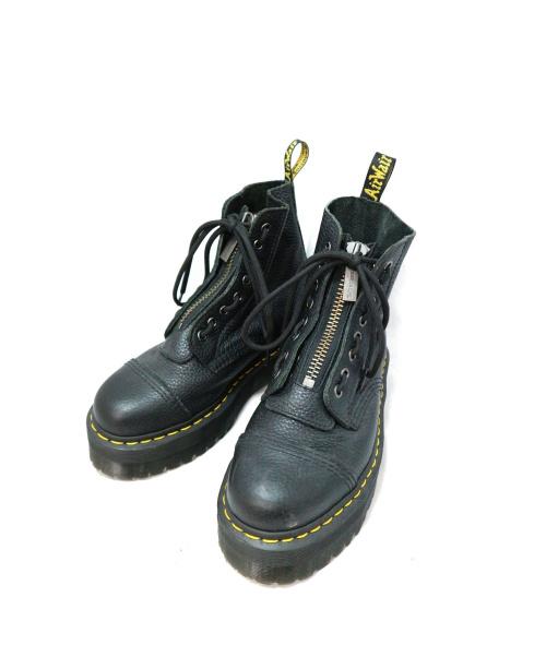 Dr.Martens(ドクターマーチン)Dr.Martens (ドクターマーチン) サイドジップブーツ ブラック サイズ:UK6 SINCLAIRの古着・服飾アイテム