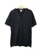 GUCCI(グッチ)の古着「シェリーライン半袖カットソー」 ブラック