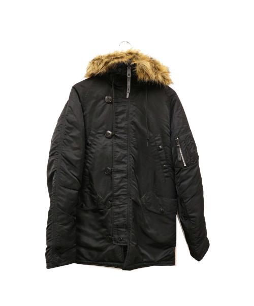 AVIREX(アヴィレックス)AVIREX (アヴィレックス) N-3Bコート ブラック サイズ:M  20094-201の古着・服飾アイテム