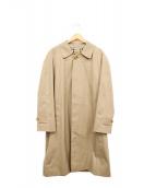 Burberrys(バーバリーズ)の古着「英国製ステンカラーコート」|ベージュ