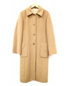 MAX&Co.(マックスアンドコー)の古着「ステンカラーコート」|ブラウン