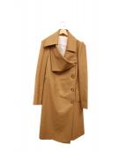 Vivienne Westwood RED LABEL(ヴィヴィアンウエストウッド レッドレーベル)の古着「ロングコート」|ブラウン