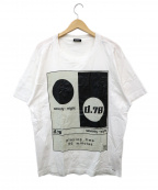 DIESEL()の古着「プリントTシャツ」|ホワイト