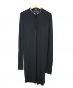 DIESEL Black Gold(ディーゼル ブラック ゴールド)の古着「長袖スタッズワンピース」|ブラック