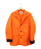Yarmo(ヤーモ)の古着「DRIVERS JACKET」 オレンジ