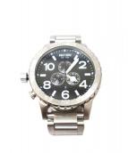 NIXON(ニクソン)の古着「クロノグラフ腕時計」 ブラック