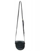 LOEWE(ロエベ)の古着「ロゴレザーポシェット」|ブラック