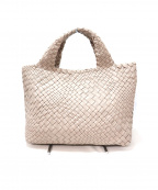 FALORNI(ファロルニ)の古着「イントレチャートハンドバッグ」|グレー