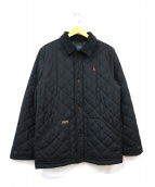 POLO RALPH LAUREN(ポロラルフローレン)の古着「キルティングコート」|ブラック