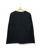 Dartin Bonaparto(ダルタン ボナパルト)の古着「スパンコールデザインカットソー」 ブラック