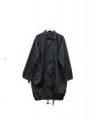 SOFIE DHOORE(ソフィードール)の古着「ステンカラーコート」|ブラック