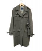 S Max Mara(エス マックスマーラ)の古着「アンゴラ混コート」|グレー