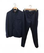 TAKEO KIKUCHI(タケオキクチ)の古着「ウールジャケットセットアップ」 ネイビー