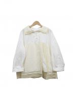 FRAPBOIS(フラボア)の古着「ミルフィーブラウス」 ホワイト