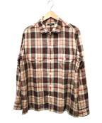 MACKINTOSH LONDON()の古着「ドレスゴードンカジュアルシャツ」|ブラウン