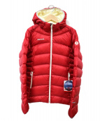 Marmot(マーモット)の古着「ライトダウンジャケット」|レッド