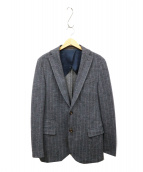 eleventy(イレブンティ)の古着「ウールテーラードジャケット」 グレー